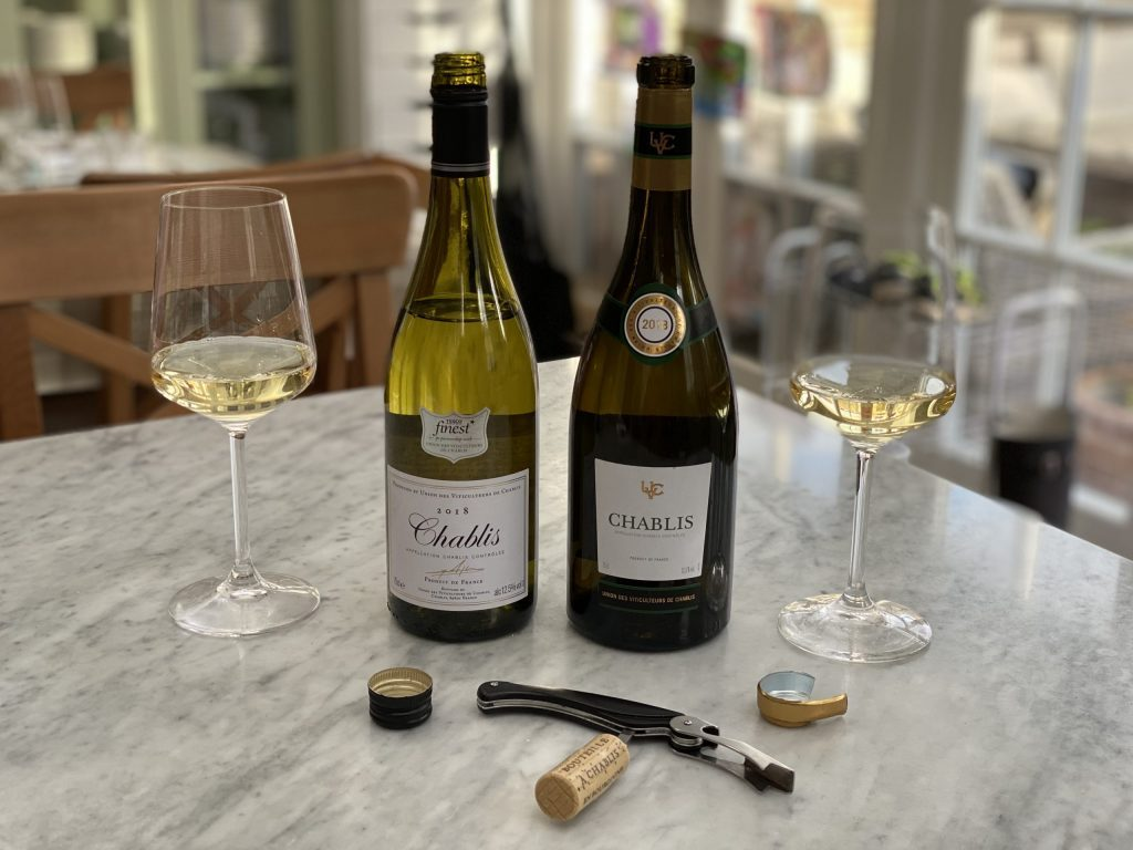 Shall we begin with a Chablis?
