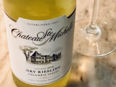 Chateau Ste Michelle 2018 Dry Riesling