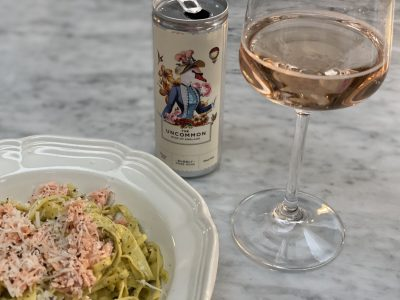 The Uncommon Wine of England's Bubbly Rosé Wine~In a Can