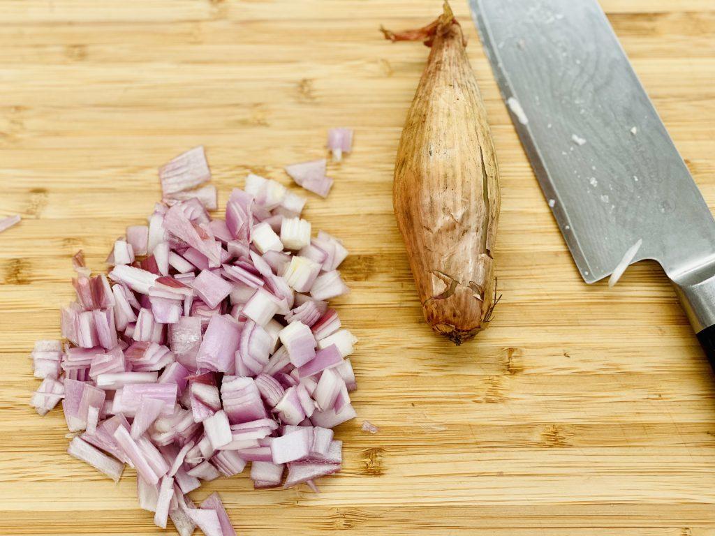 chopped shallot