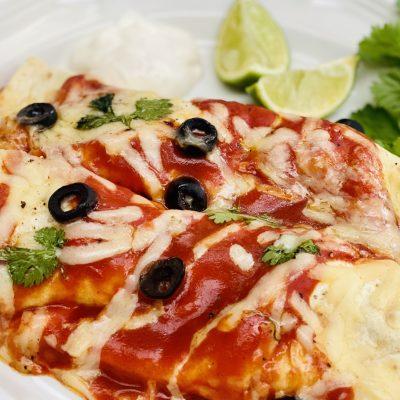 buttermilk chicken enchiladas