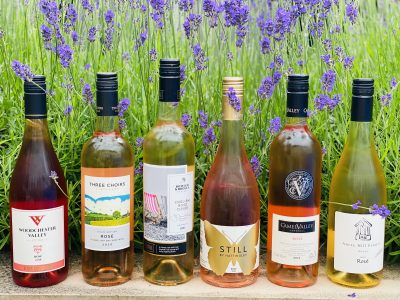 An Incredible Evening Tasting British Rosé Wines