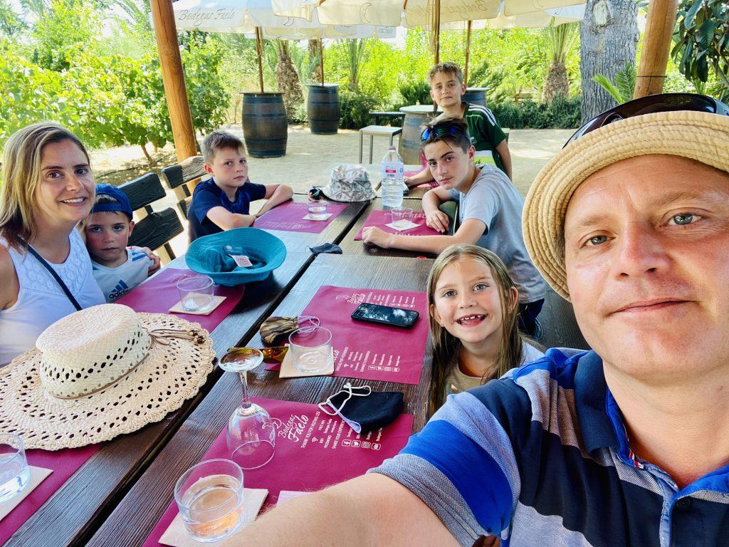 Vigneview family at Bodegas Faelo